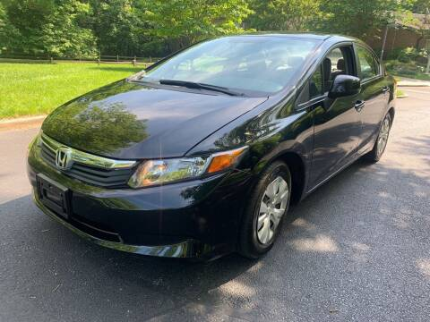 2012 Honda Civic for sale at Bowie Motor Co in Bowie MD