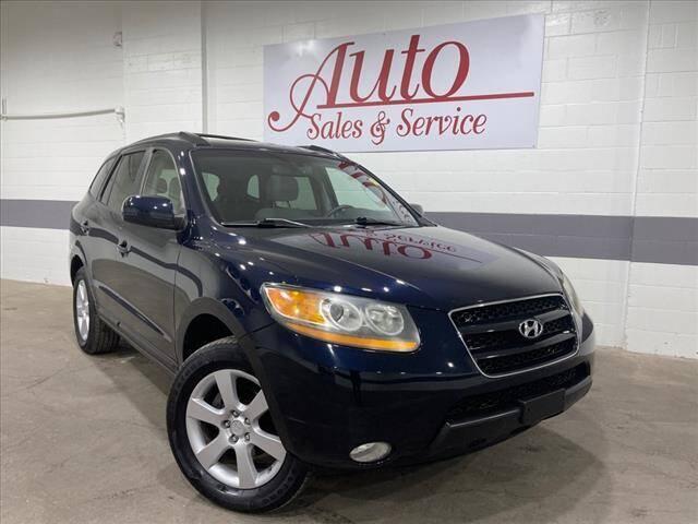 2009 Hyundai Santa Fe for sale at Auto Sales & Service Wholesale in Indianapolis IN