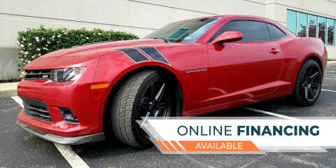 2014 Chevrolet Camaro for sale at Rayyan Auto Mall in Lexington KY