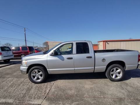 2007 Dodge Ram Pickup 1500 for sale at BIG 7 USED CARS INC in League City TX