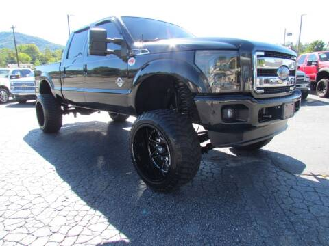 2014 Ford F-250 Super Duty for sale at Hibriten Auto Mart in Lenoir NC