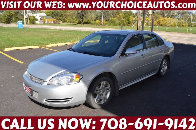 2013 Chevrolet Impala for sale at Your Choice Autos - Crestwood in Crestwood IL