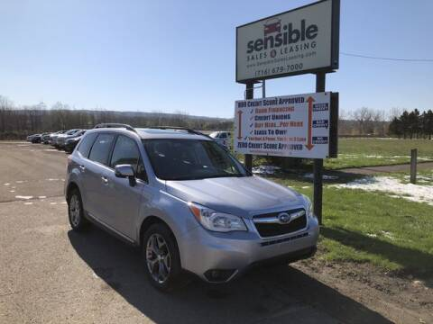 2016 Subaru Forester for sale at Sensible Sales & Leasing in Fredonia NY