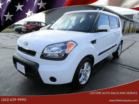 2011 Kia Soul for sale at Lifetime Auto Sales and Service in West Bend WI