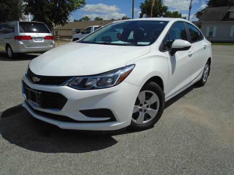 2017 Chevrolet Cruze for sale at Total Eclipse Auto Sales & Service in Red Bud IL