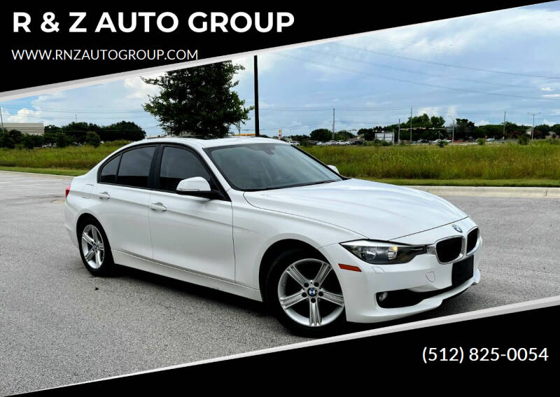 2013 BMW 3 Series for sale at R & Z AUTO GROUP in Austin TX