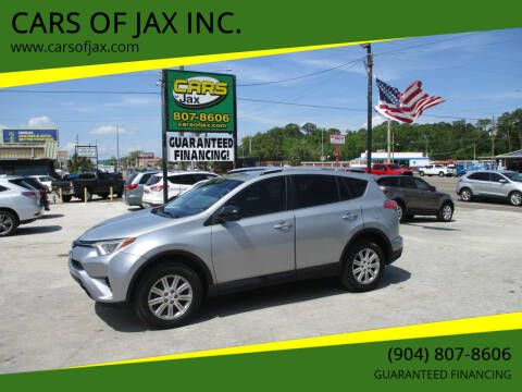 2016 Toyota RAV4 for sale at CARS OF JAX INC. in Jacksonville FL