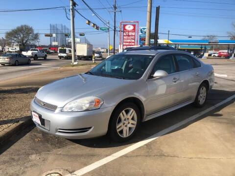 2012 Chevrolet Impala for sale at Spartan Auto Sales in Beaumont TX