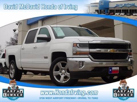 2018 Chevrolet Silverado 1500 for sale at DAVID McDAVID HONDA OF IRVING in Irving TX