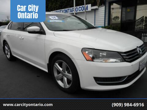 2014 Volkswagen Passat for sale at Car City Ontario in Ontario CA