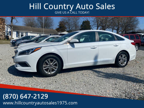 2017 Hyundai Sonata for sale at Hill Country Auto Sales in Maynard AR