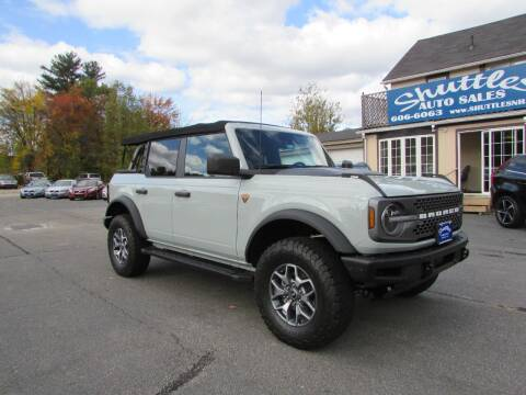 2021 Ford Bronco for sale at Shuttles Auto Sales LLC in Hooksett NH