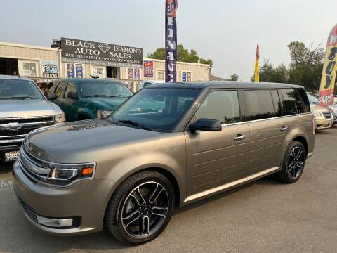 2014 Ford Flex for sale at Black Diamond Auto Sales Inc. in Rancho Cordova CA