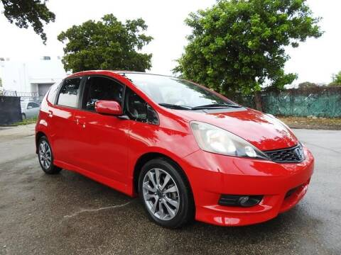 2013 Honda Fit for sale at SUPER DEAL MOTORS 441 in Hollywood FL