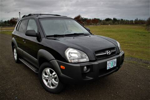 2008 Hyundai Tucson for sale at Accolade Auto in Hillsboro OR