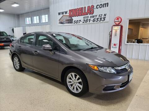2012 Honda Civic for sale at Kinsellas Auto Sales in Rochester MN
