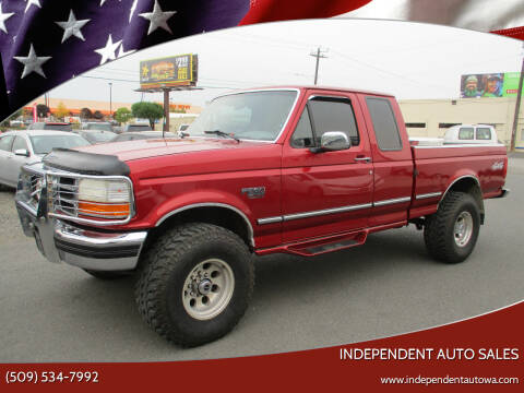 1997 Ford F-250 for sale at Independent Auto Sales in Spokane Valley WA