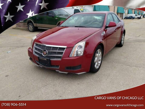 2008 Cadillac CTS for sale at Cargo Vans of Chicago LLC in Mokena IL