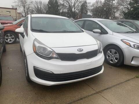 2016 Kia Rio for sale at Martell Auto Sales Inc in Warren MI