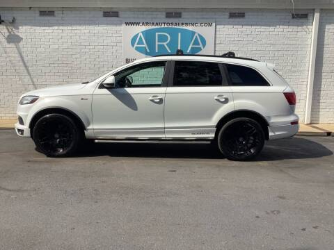 2012 Audi Q7 for sale at ARIA AUTO SALES INC.COM in Raleigh NC