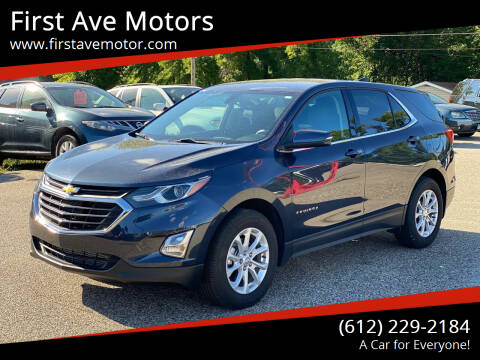 2019 Chevrolet Equinox for sale at First Ave Motors in Shakopee MN