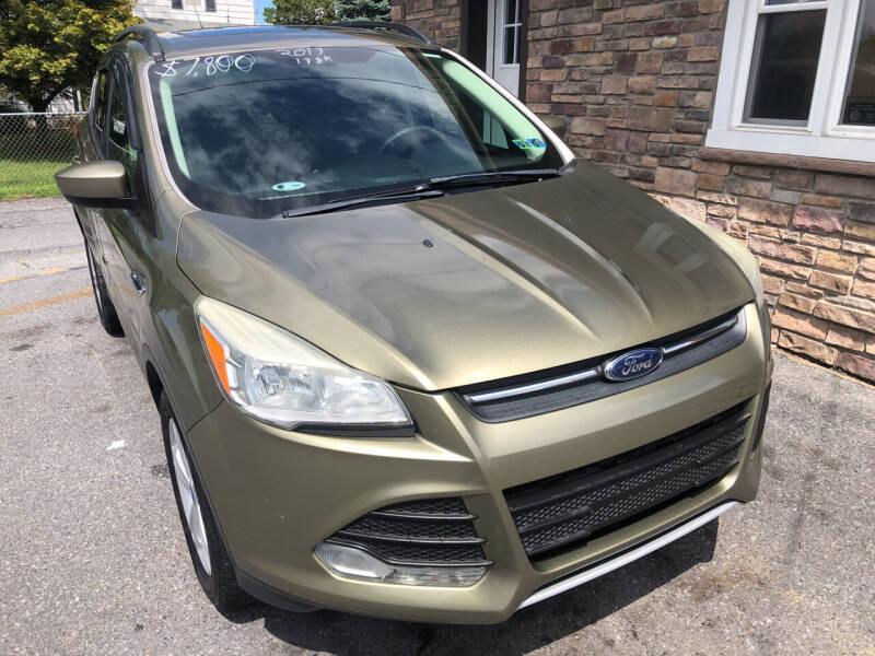 2013 Ford Escape for sale at Matt-N-Az Auto Sales in Allentown PA