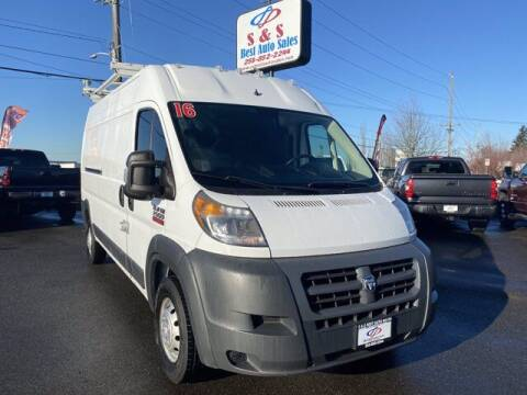 2016 RAM ProMaster Cargo for sale at S&S Best Auto Sales LLC in Auburn WA
