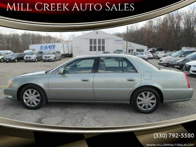 2006 Cadillac DTS for sale at Mill Creek Auto Sales in Youngstown OH