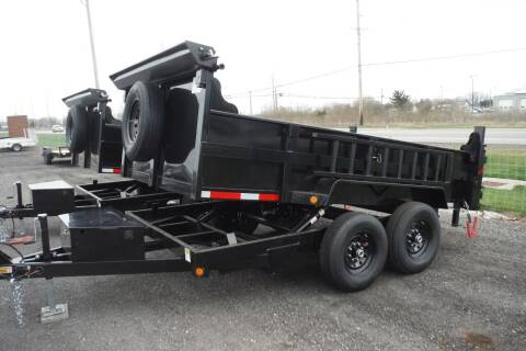 2022 Quality Steel 12 FT DUMP 12K for sale at Bryan Auto Depot in Bryan OH