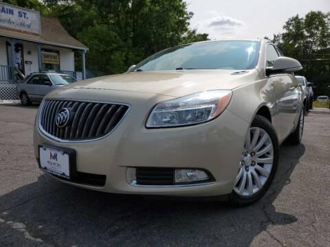 2012 Buick Regal for sale at Mega Motors in West Bridgewater MA