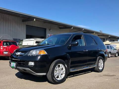 2006 Acura MDX for sale at DASH AUTO SALES LLC in Salem OR