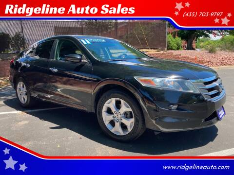 2011 Honda Accord Crosstour for sale at Ridgeline Auto Sales in Saint George UT