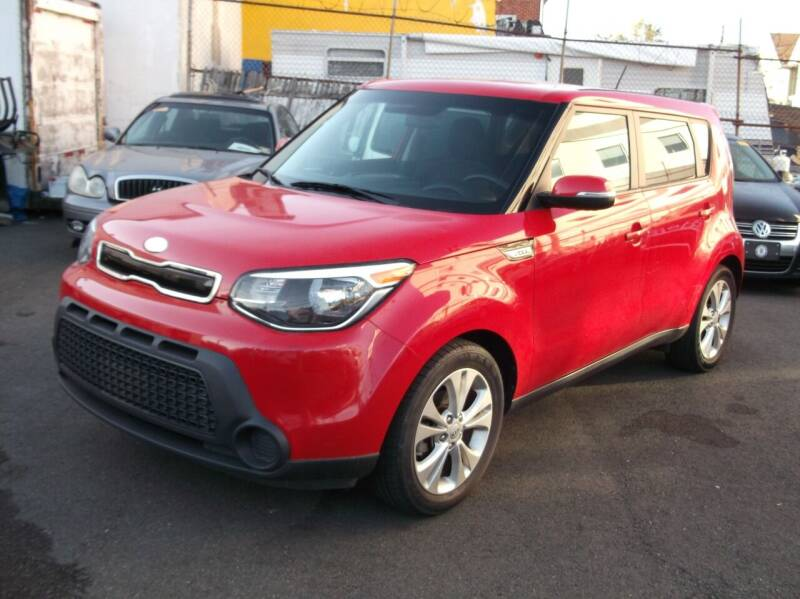 2014 Kia Soul for sale at Topchev Auto Sales in Elizabeth NJ