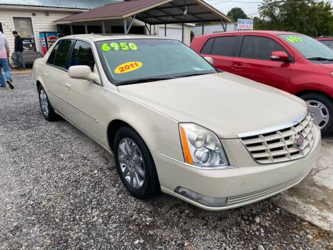 2011 Cadillac DTS for sale at Rocket Center Auto Sales in Mount Carmel TN