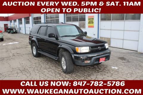 2001 Toyota 4Runner for sale at Waukegan Auto Auction in Waukegan IL