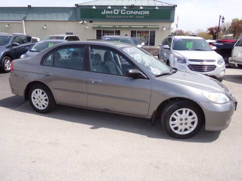 2004 Honda Civic for sale at Jim O'Connor Select Auto in Oconomowoc WI