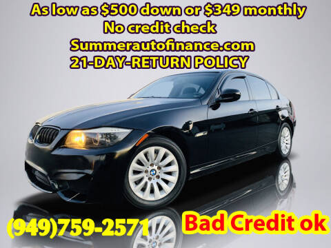 2009 BMW 3 Series for sale at SUMMER AUTO FINANCE in Costa Mesa CA