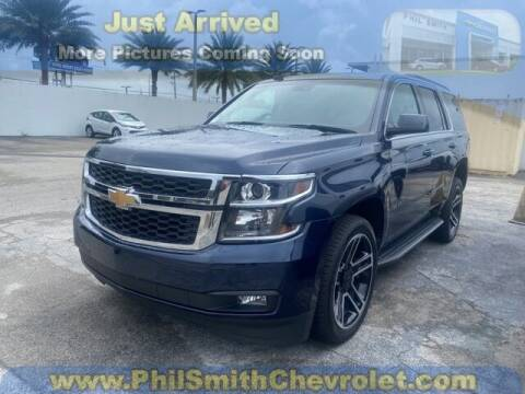 2018 Chevrolet Tahoe for sale at PHIL SMITH AUTOMOTIVE GROUP - Phil Smith Chevrolet in Lauderhill FL