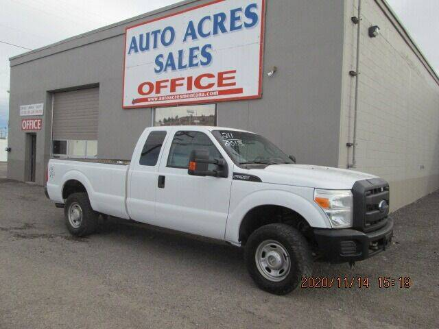 2016 Ford F-250 Super Duty for sale at Auto Acres in Billings MT