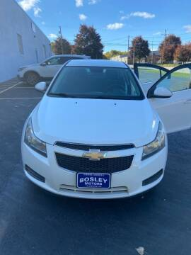 2012 Chevrolet Cruze for sale at BOSLEY MOTORS INC in Tallmadge OH