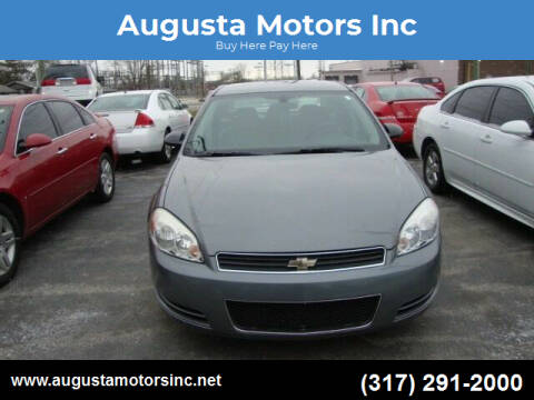 2007 Chevrolet Impala for sale at Augusta Motors Inc in Indianapolis IN