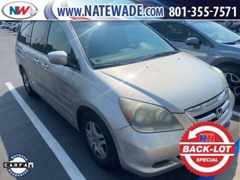 2007 Honda Odyssey for sale at NATE WADE SUBARU in Salt Lake City UT