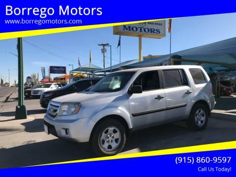 2011 Honda Pilot for sale at Borrego Motors in El Paso TX
