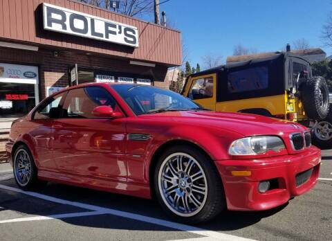 2005 BMW M3 for sale at Rolfs Auto Sales in Summit NJ