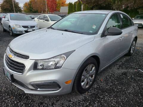 2015 Chevrolet Cruze for sale at Universal Auto Sales in Salem OR