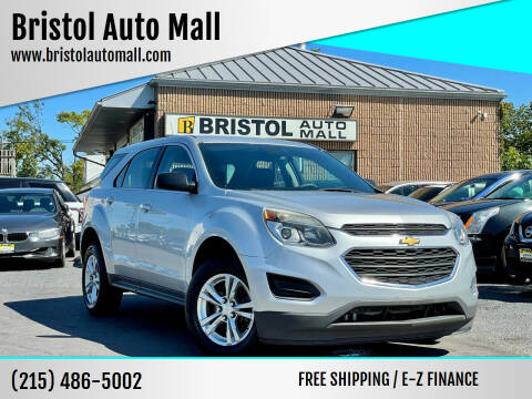 2016 Chevrolet Equinox for sale at Bristol Auto Mall in Levittown PA