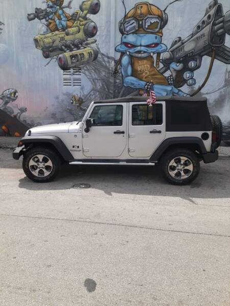 2007 Jeep Wrangler Unlimited 4x4 X 4dr SUV - Miami FL