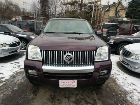 2007 Mercury Mountaineer for sale at Six Brothers Auto Sales in Youngstown OH