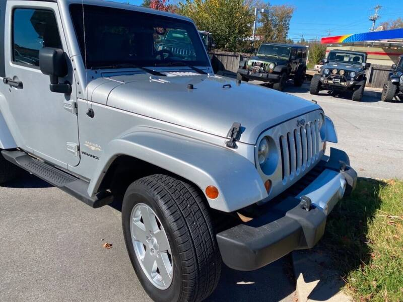 2010 Jeep Wrangler for sale at Z Motors in Chattanooga TN