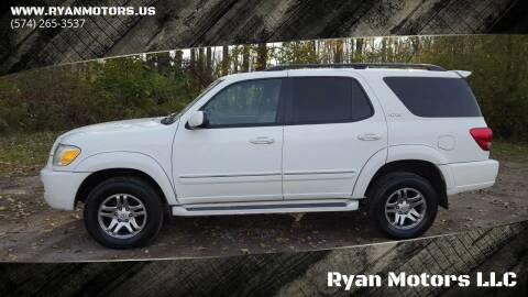 2007 Toyota Sequoia for sale at Ryan Motors LLC in Warsaw IN